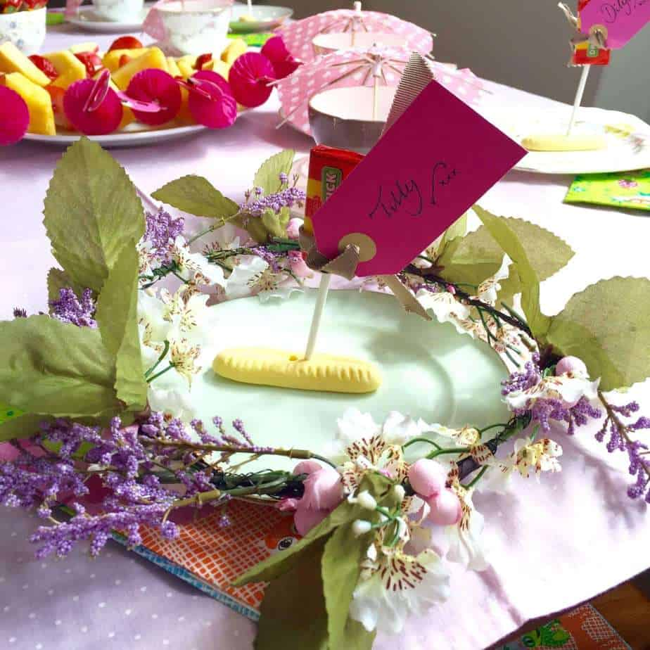 Afternoon Tea Hen Party Ideas: How To Make Hen Party Table Decorations.