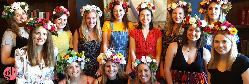 flower crown workshop Bristol