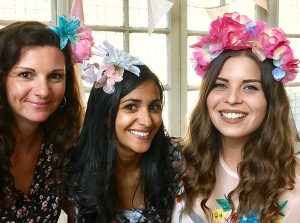 Floral headband making classes in London