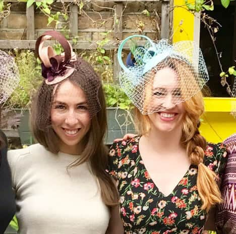 Vintage fascinator workshop