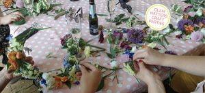flower crown workshop Brighton