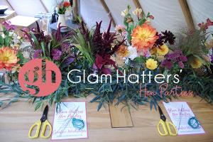 flower crown workshop South Wales