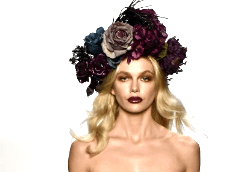 Ascot millinery trends flowers