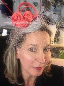 how to make a wedding fascinator
