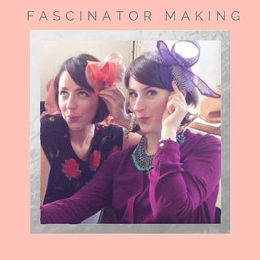 fascinator party bridal shower