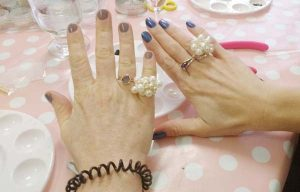 ring making hen party idea