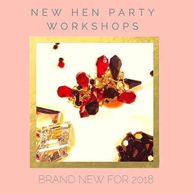 jewllery making hen party workshop