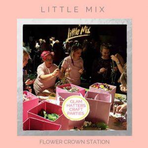 Flower Crowns at Little Mix