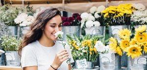 flower station for weddings