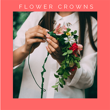 floral crown workshops Bristol