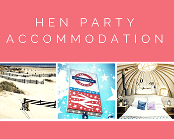 hen party accommodation