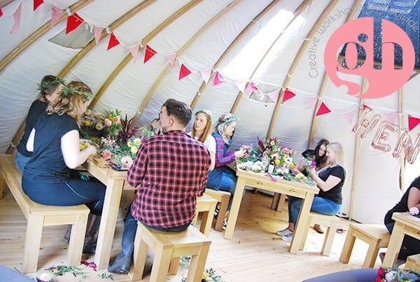 Flower Crown Workshop In South Wales