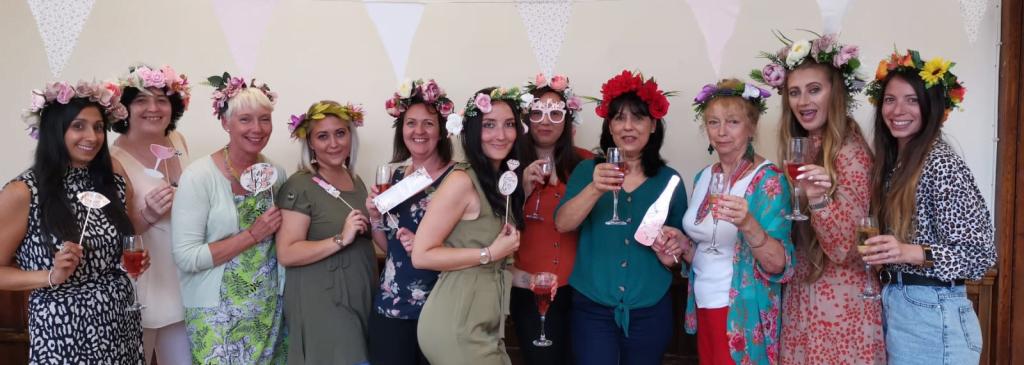 floral crown workshop