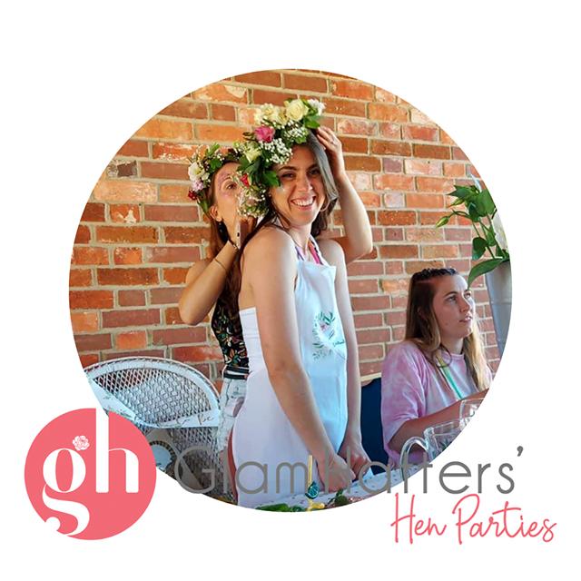 Flower Crown Workshop in Somerset