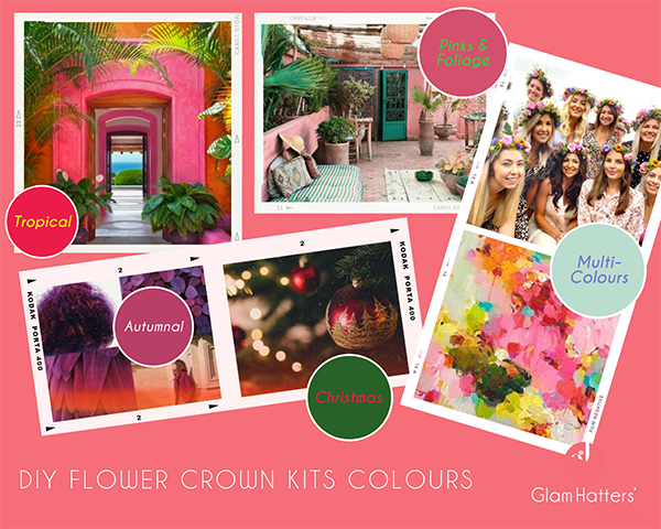 DIY Flower Crown Kits-the hot new trend!