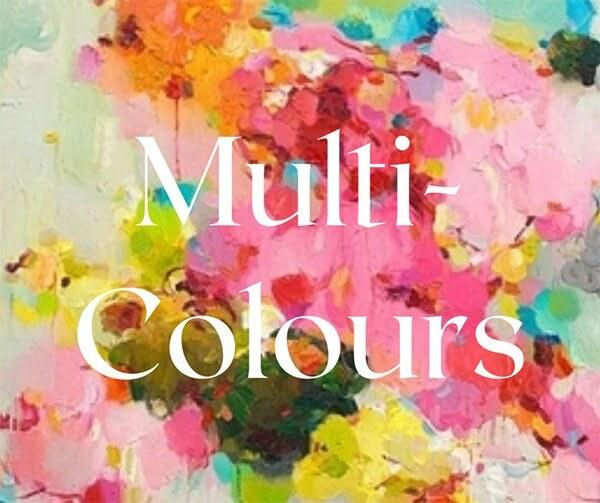 Multi Colored DIY Flower Crown Kit